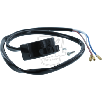 Commodo gauche. Interrupteur code/phare origine Honda Dax ST70 de 1969 à 1981 inclus