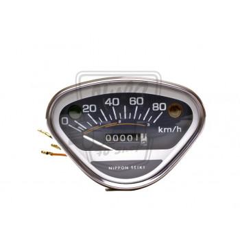 Compteur kilométrique (km/h) complet, origine Honda Dax ST50 et ST70 12v