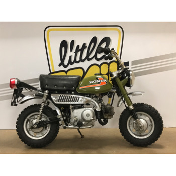 Honda Monkey Z50 J1 vert Collection origine droit