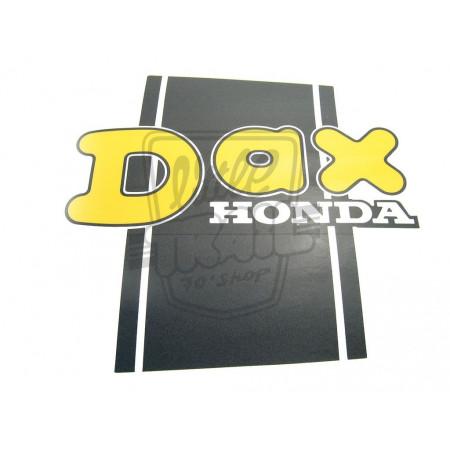 AUTOCOLLANT DE POUTRE DROIT HONDA DAX ST70