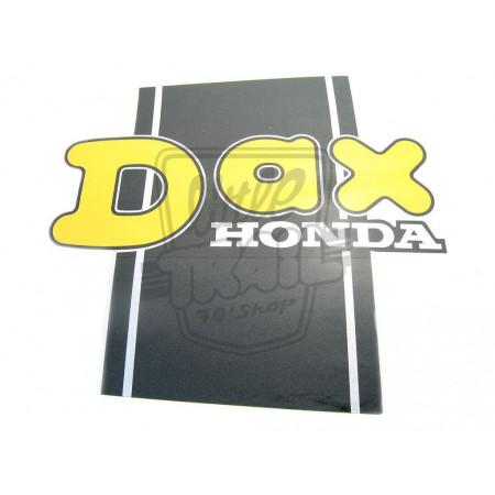 AUTOCOLLANT DE POUTRE GAUCHE HONDA DAX ST70