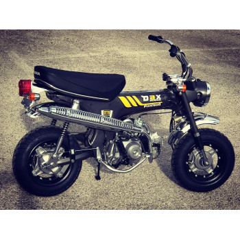 Honda Dax ST70 1977 Gris Mat restauré