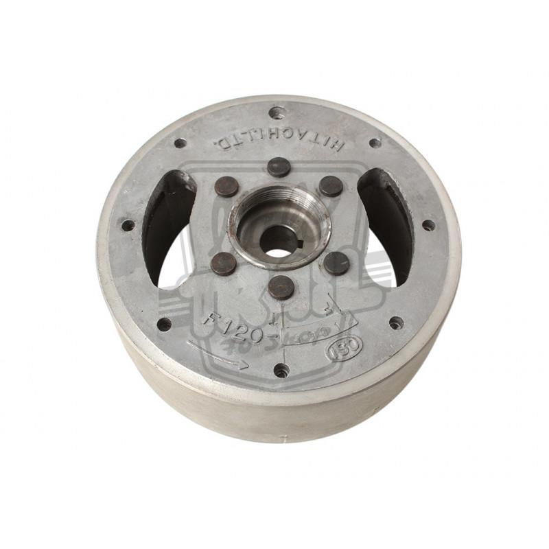 Volant magnétique ou rotor Hitachi origine Honda Dax ST50 et ST70 6v 1ère génération