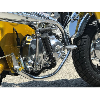 1977 Honda Dax ST70 GOLD ENGINE RIGHT