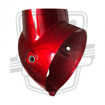 Globe de phare en plastique rouge Candy (R4-C) origine Honda Mini Trail CT70 6v