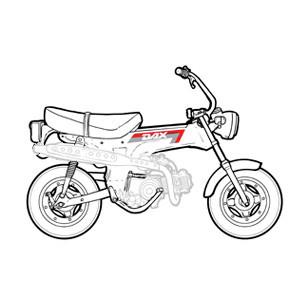 Châssis - Partie cycle Honda Dax 6v 1982-1989