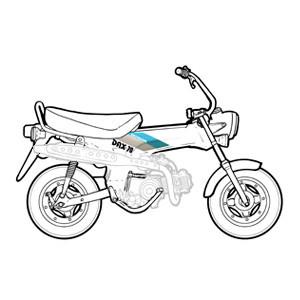 Châssis - Partie cycle Honda Dax 12v 1990-1996