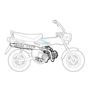 Moteur - Boite Honda Dax 12v 1990-1996
