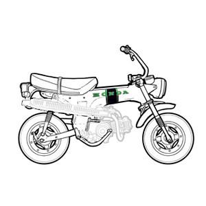 Châssis - Partie cycle Honda Dax 6v 1969-1981